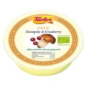 Tartex Bio Pâté Steinpilz & Cranberry Brotaufstrich 75g