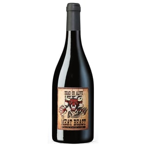 The Meat Beast South African Shiraz Rotwein trocken Südafrika Syrah 15% 0,75l