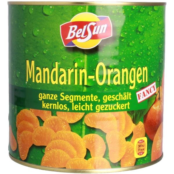 BelSun Mandarin-Orangen Konservenobst 1,5kg
