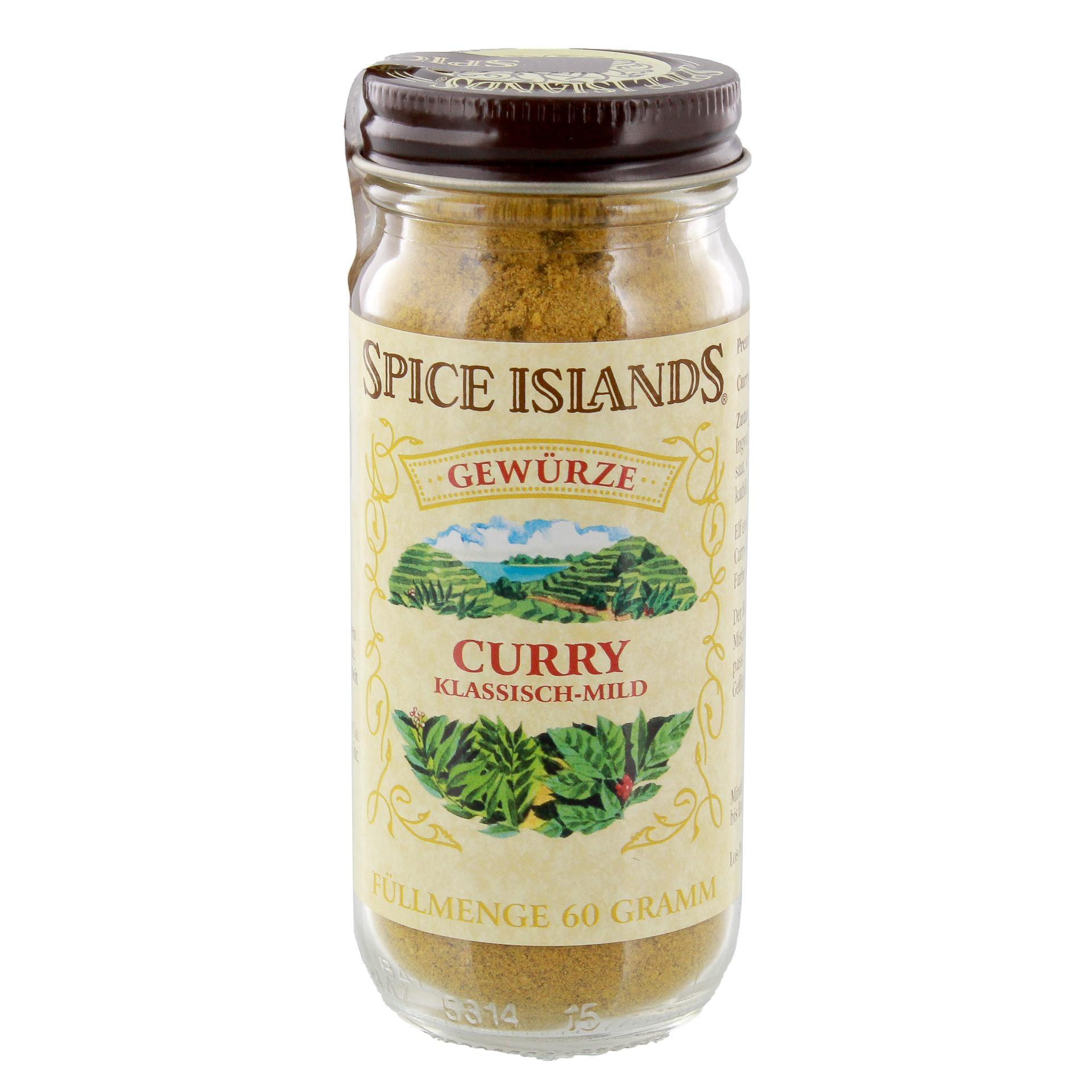 Spice Islands - Curry Gewürz klassisch-mild Orientalisch Asiatisch - 60g