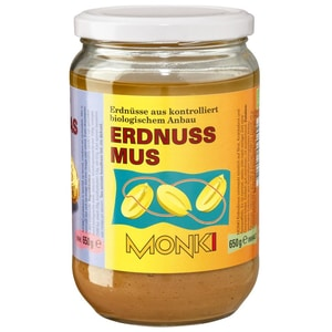 Monki Erdnussmus Bio 650g
