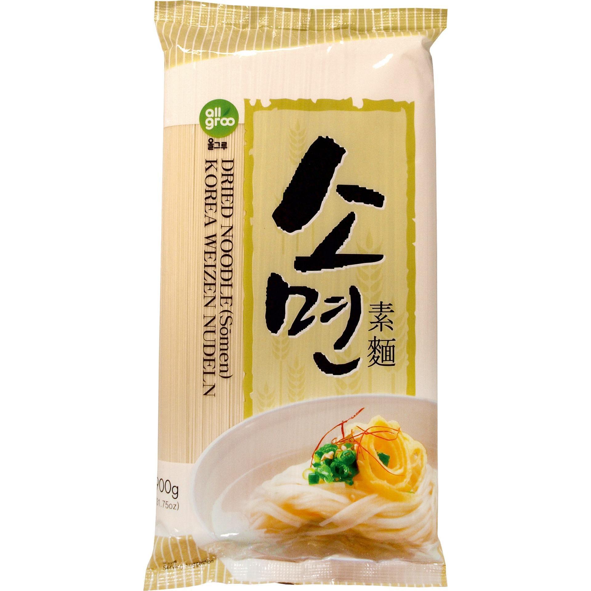 Allgroo - Korea Weizen Nudeln - 900g