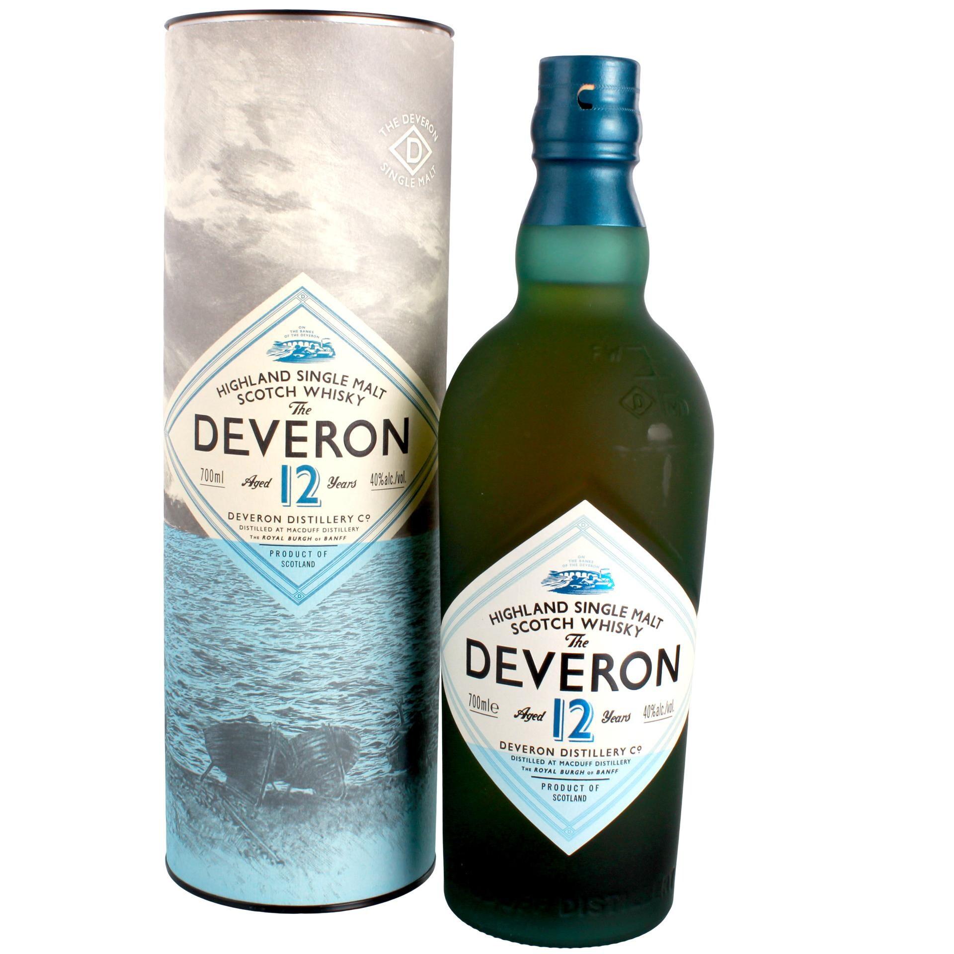 The Deveron Highland Single Malt Scotch Whisky Whiskey 0,7l