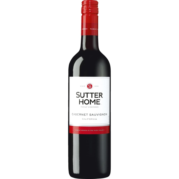Sutter Home Cabernet Sauvignon California Rotwein trocken 13% 0,75l