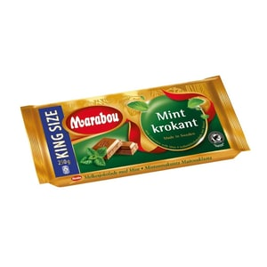 Marabou Crispy Mint - Schokolade - 250g