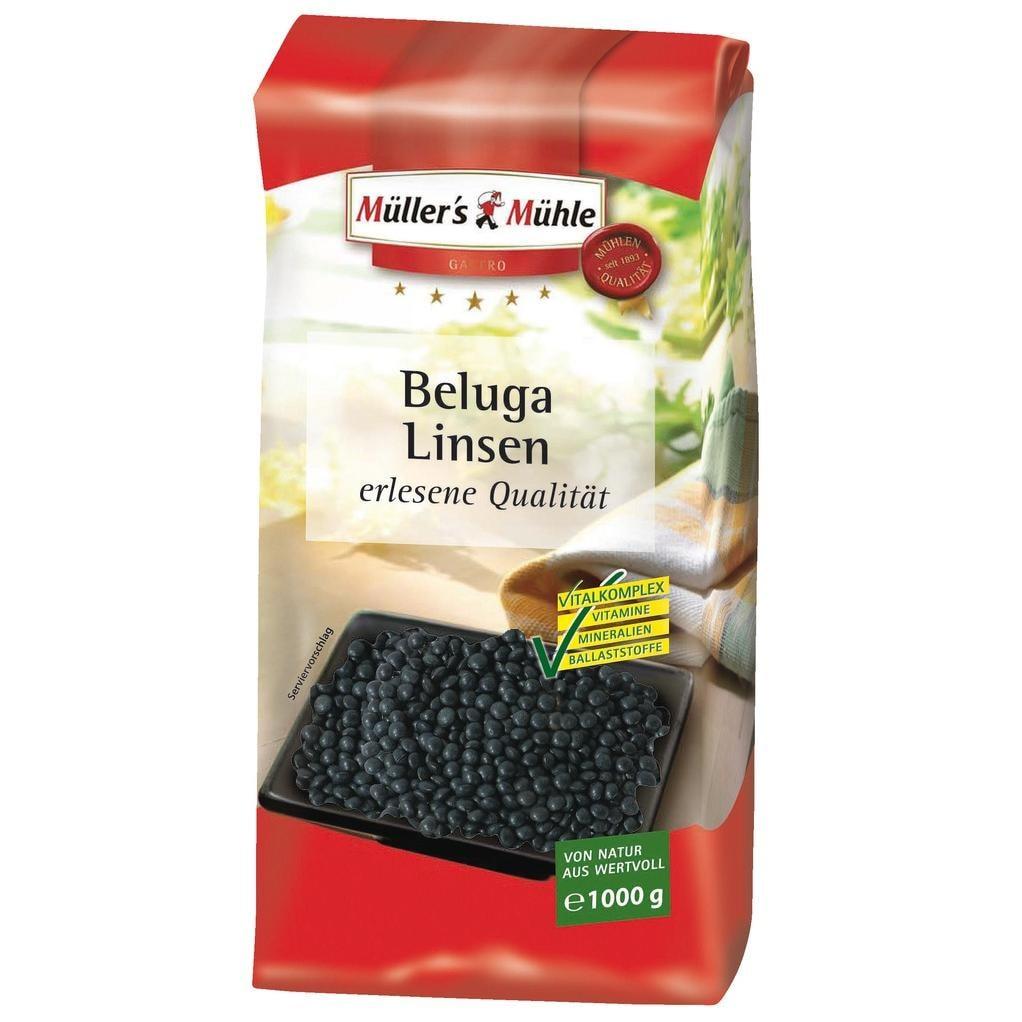 Müller's Mühle - Beluga Linsen - 1000g