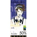 Zotter Bio Labooko 50% Ecuador Schokolade 70g