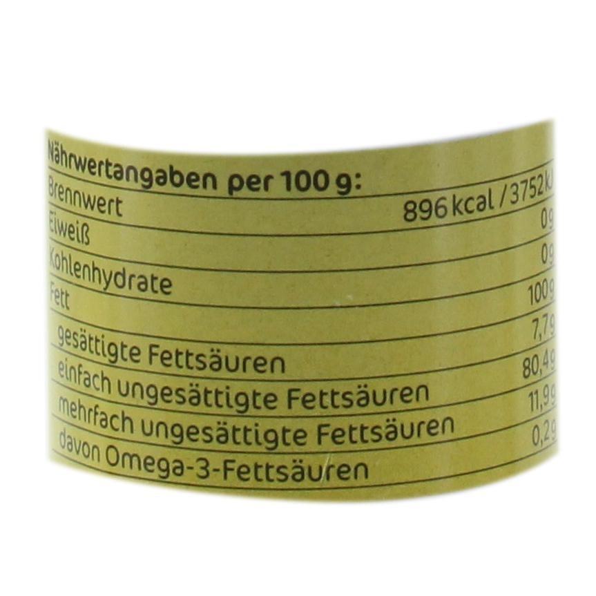 Fandler Bio Haselnussöl kaltgepresst 100ml