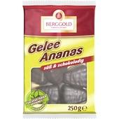 Berggold Gelee Ananas Schokolade 250g