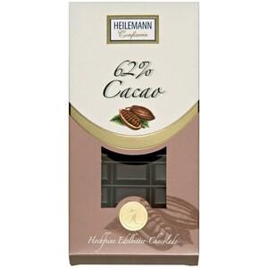 Heilemann - Edelbitter-Schokolade 62% Tafelschokolade - 100g