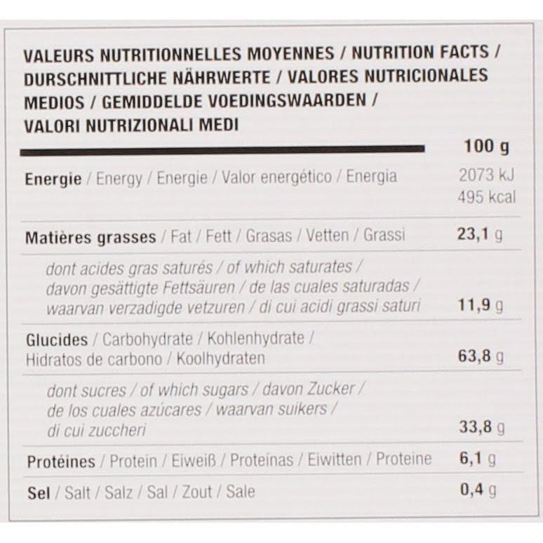 Filet Bleu - Délice Framboise Keks mit Himbeer und Zartbitterschokolade - 130g
