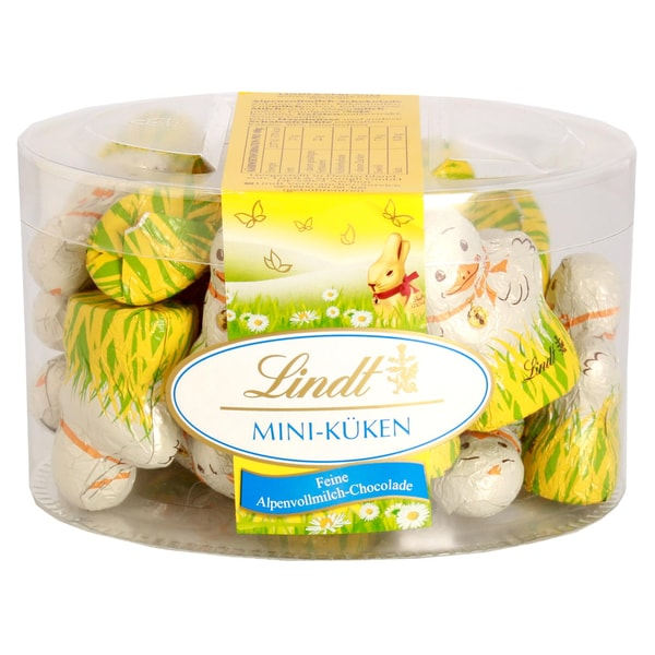 Lindt Mini-Küken Alpenvollmilchschokolade 200g 20 Stück