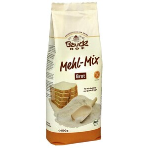 Bauck Bio Mehl-Mix Brot glutenfrei 800g