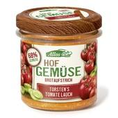 Allos Bio Hofgemüse Torstens Tomate Lauch Brotaufstrich 135g