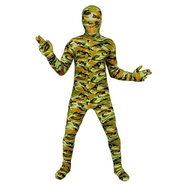 Morphsuits Morphsuit Kinder Camouflage Ganzkörperkostüm