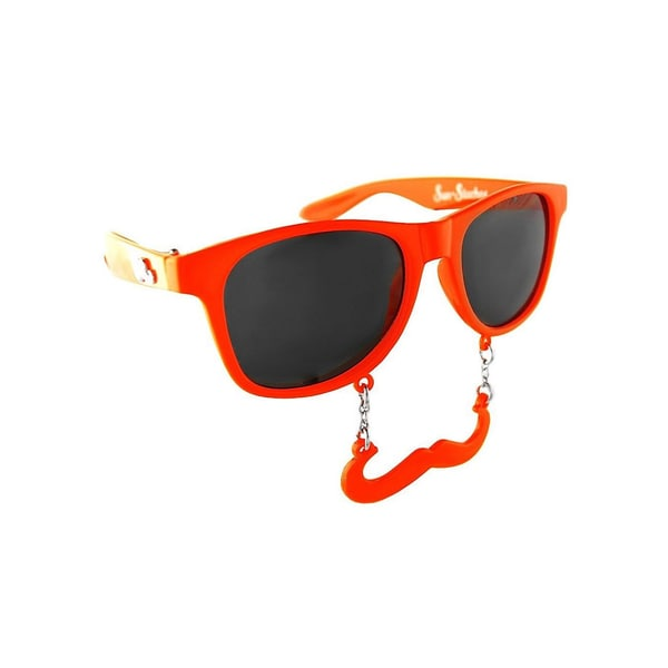Sun Staches Classic orange Partybrille