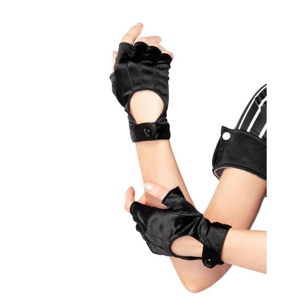 Leg Avenue Fingerlose Handschuhe schwarz