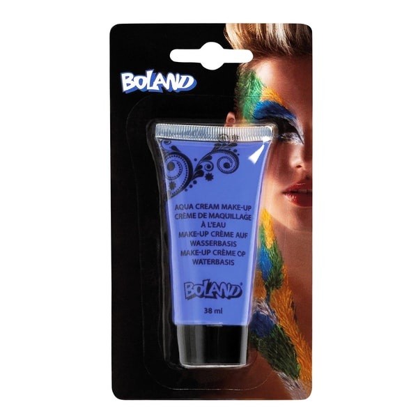 Fun World Aqua Cream Make-up blau Halloween Schminke
