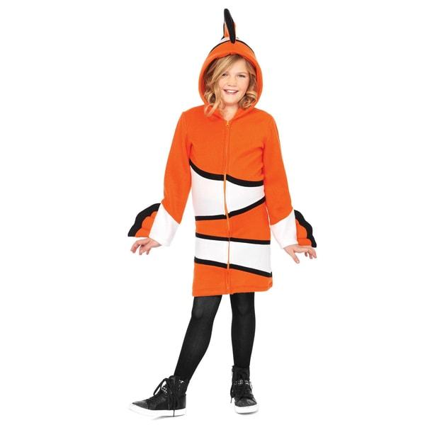 Leg Avenue Clownfisch Hoodie Dress für Kinder