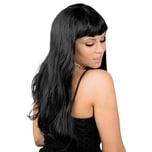 Boland Lange Haare schwarz Perücke