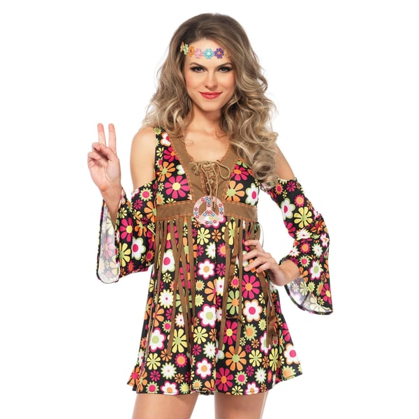 Leg Avenue Flower Power Kleid