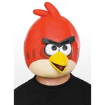Angry Birds Maske rot