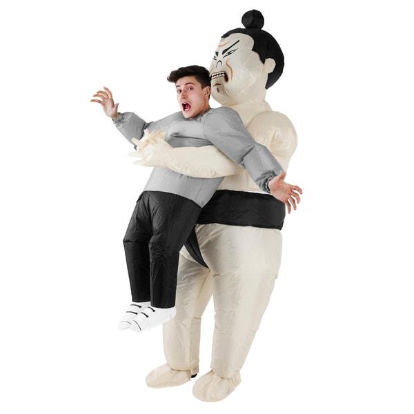 Morphsuits Aufblasbares Carry Me Kostüm Sumo