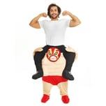 Morphsuits Carry Me Kostüm Wrestler