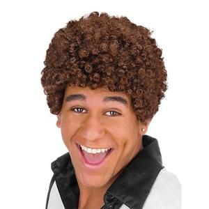 Fun World 80er Afro Perücke braun