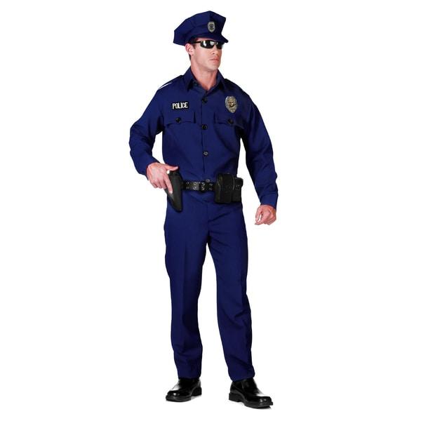 Underwraps Amerikanischer Polizist Kostüm