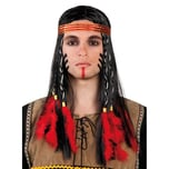 Boland Prärie Indianer Perücke