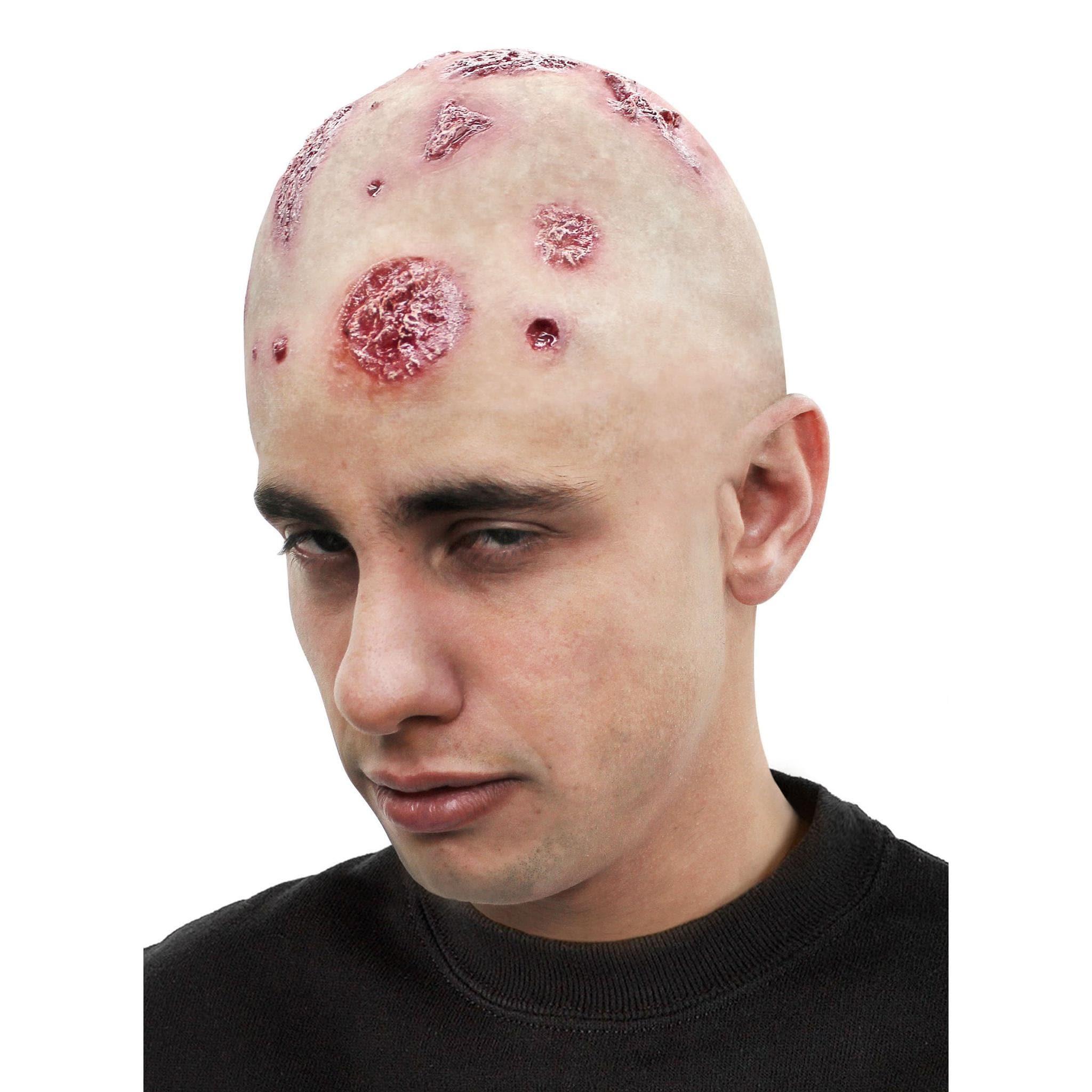 Ghoulish Productions Zombie Latex Glatze ungeschminkt