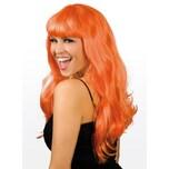 Boland Lange Haare orange Perücke