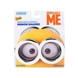 Sun Staches Minion Brille silber