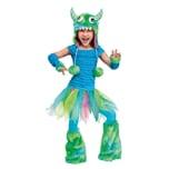 Fun World Flauschiges Grummel-Monster blau Kinderkostüm