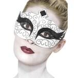 Smiffys Black Swan Maske