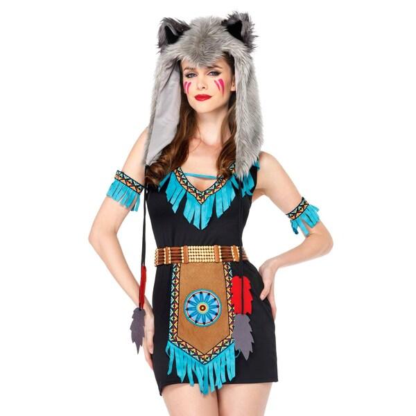 Leg Avenue Wilde Wolfskriegerin Kostüm