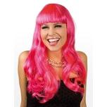 Boland Lange Haare pink Perücke