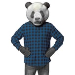 Rasta Imposta Realistischer Panda Accessoire Set