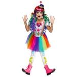 Fun World Farbklecksclown Kinderkostüm