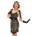 Leg Avenue Charleston Kleid mit Pfauenmuster Kostüm