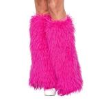 Leg Avenue Fellstulpen pink