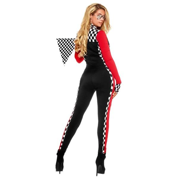 Forplay Sexy Formel 1 Pilotin Kostüm