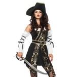 Leg Avenue Brokat Piratin Kostüm