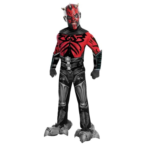 Noble Collection Star Wars Darth Maul Muskeln Deluxe Kinderkostüm