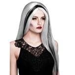Boland Hexe Perücke weiß-schwarz