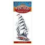 Tinsley Segelschiff Vintage Klebe-Tattoo