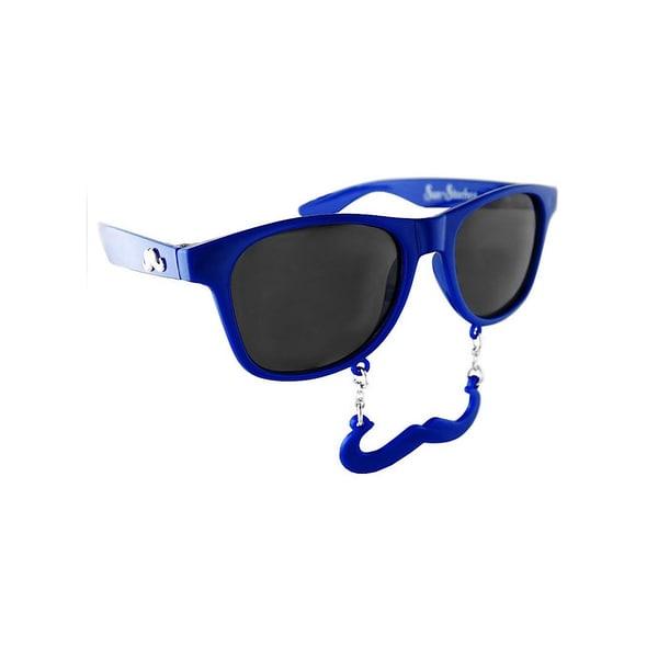 Sun Staches Classic marineblau Partybrille
