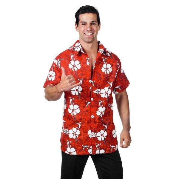 Underwraps Hawaiihemd rot