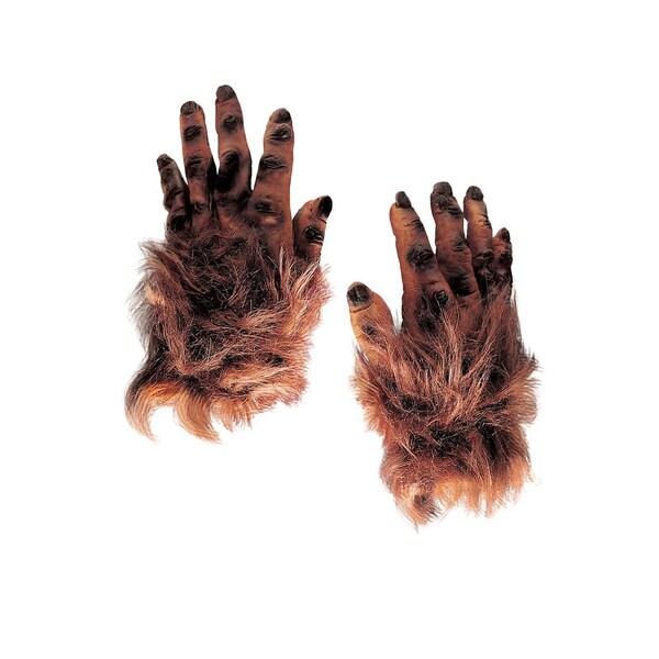 Rubies Behaarte Monsterhände braun aus Latex